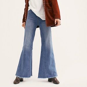 Free People pull on Penny Flare jeans